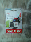 SD MicroSD Card Karte SanDisk 16 32 64 128 GB Ultra A1 Class 10 inklusiv Adapter
