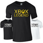 XBOX LEGEND Game Logo Gamer Gaming Tshirt Tee Top Adults Kids Xbox One Funny