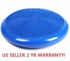 14 Inch Blue Or Pink Balance Stability Disc Yoga Cushion Fitness Free shipping