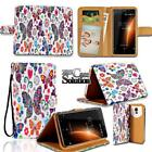 Leather Wallet Stand Magnetic Flip Case Cover For Various BlackBerry SmartPhones