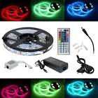 Waterproof 0.5-5M LED RGB 5050 SMD Strip Lights USB or Remote Controller Adapter