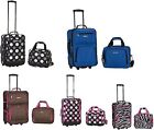 "2 Piece Expandable Luggage Set Polyester  19"" and 12"""