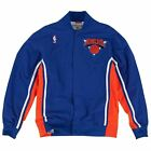 Mens Mitchell & Ness NBA 1992-93 Authentic Warm Up Jacket New York Knicks on eBay