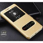 For Huawei P9 Lite Mini Mate 10 Lite Deluxe Flip View-Window Leather Case Cover
