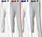 Champro Triple Crown Youth Open Bottom Baseball Pants W/ Piping Adjustable BP91U