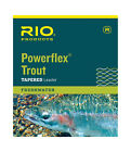 Rio Powerflex Trout Tapered Leader Freshwater All Weight,Sizes Single or 3 packs