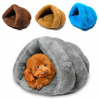 Fashion Cat Dog House Puppy Cave Pet Sleeping Bed Mat Pad Winter Warm Igloo Nest