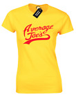 AVERAGE JOES LADIES T-SHIRT FUNNY DESIGN GLOBO GYM PURPLE COBRAS DODGEBALL RETRO