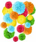 Mixed Tissue Paper Pompom Pom Poms Hanging Garland Wedding Party Decor