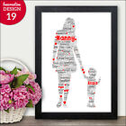 PERSONALISED Nanny Nan Granny and Grandson Granddaughter Mothers Day Gifts