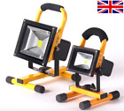 20w 30w 50w LED Rechargeable Light Work Portable Battery Floodlight UK SELLER