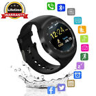 Y1Round Bluetooth Smart Watch with SIM Card TF Card Slot Sync Calls for Android*