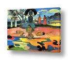 Day Of The Gods by Paul Gauguin   Ready to hang canvas   Wall art paint print