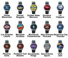 Pro Basketball Western Team Variety Logo Unisex Analog Leather Wrist Watch on eBay