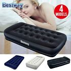 Bestway Single Inflatable Air Bed Mattress Premium Sleeping Home Camping 4 Size