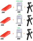 600/800/1000 Tile Leveling Spacer System Tool & Wedges & Pliers Tool Tiling