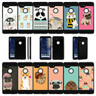For Google Pixel 2 XL (2017) Shockproof Protective Dual Bumper Case - Cute Pets