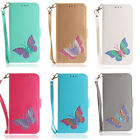 Magnetic PU Leather Wallet Flip Stand Case Cover For Samsung S7 Edge S8+ J530