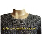 Medieval Chain Mail Shirt 18 Gauge Round Riveted Full Riveted Chain Mail Armour