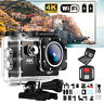 Ultra 4K1080P Waterproof Sport DV WiFi Action Camera &Accessories Kit+Go pro bag