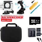 Action Camera Portable and Waterproof Accessories  For SJ4000/9000 V2-V1-A9 US*