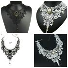VINTAGE BLACK AND WHITE  NECKLACES