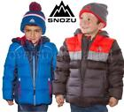 NEW BOYS SNOZU FLEECE LINED DOWN JACKET! ULTRA CLEAN DOWN CO