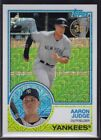 2018 TOPPS SERIES 1 1983 CHROME SILVER PACKS SINGLES U PICK COMPLETE YOUR SET