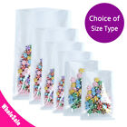 Wholesale Variety of Sizes for Clear White Heat-Sealable Open Top Pouch Bag C1