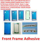 20x LCD Front Frame Adhesive Sticker Glue Tape for Samsung Note 1 2 3 4 5 8 Mini