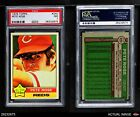 1976 Topps #240 Pete Rose Reds PSA 7 - NM