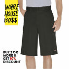 "DICKIES SHORTS 42283 MENS WORK SHORTS 13"" INSEAM LOOSE FIT MULTI POCKET RELAXED"