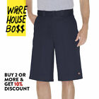 "DICKIES SHORTS 42283 MENS WORK SHORTS 13"" INSEAM LOOSE FIT MULTI POCKET RELAXED <br/> *BUY 2 OR MORE & GET 10% DISCOUNT* BUY WITH CONFIDENCE"