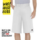 "DICKIES SHORTS 42283 MENS 13"" LOOSE FIT WORK SHORTS CELL PHONE POCKET UNIFORM"