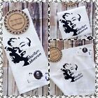 Marilyn Monroe Personalised towel set Or Hanging Hand Towel
