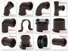Polypipe 40mm Push Fit Waste Pipe Fittings in Brown