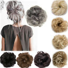 Kyпить 100% Natural Curly Messy Bun Hair Piece Scrunchie Real Thick Hair Extensions GSM на еВаy.соm