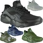 Mens Running Trainers Mens Flat Fitness Gym Sports Comfy Lace Up Shoes Size