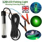 120 LEDs 12V Underwater Submersible Night Fishing Light Crappie Shad Squid Boat