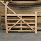 Untreated Larch/Douglas Fir Curved Heel (Ranch) Gate