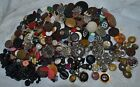 ESTATE MIXED LOT OVER 500 ANTIQUE VINTAGE VICTORIAN COLLECTABLE BUTTONS