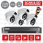 kit 8 Channel HikVision DVR Home Security Fix Lens ProLux Camera in/outdoor uk
