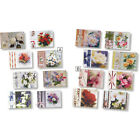 3D Flower Cards with Transparent Paper