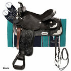 King Series Silver Show King II Saddle Package
