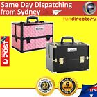 Lockable Portable Professional Cosmetic Beauty Make Up Jewellery Carry Case Box