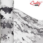 Urban Digital Camo Vinyl Wrap / Matte Camouflage Decal Graphics / Bubble Free