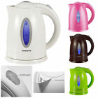 electric kettle cordless - 1.7L Cordless Electric Water Kettle Stainless Steel 1100W Tea Pot Maker Boiler