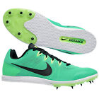 New Nike Zoom Rival D 9 Mens Track & Field Spikes Distance Racing Shoes Green