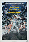 MOONRAKER JAMES BOND 007 ROGER MOORE VINTAGE CLASSIC MOVIE   POSTER £12.99 GBP on eBay