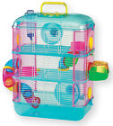 HAMSTER CAGE WITH TUBES 3 TIER - STOREY  BLUE